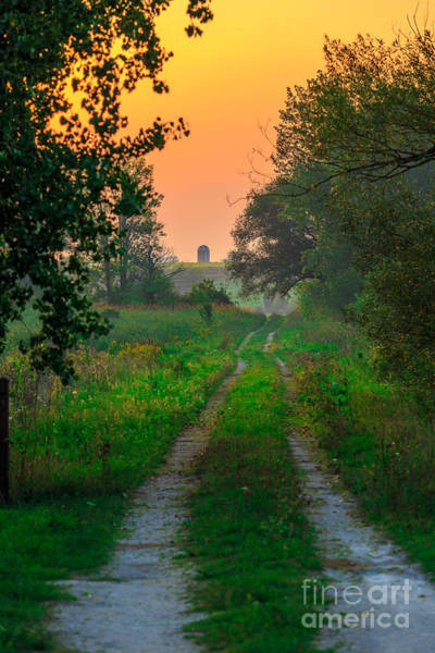 Horicon Wall Art - Photograph - The Path We Follow by Andrew Slater