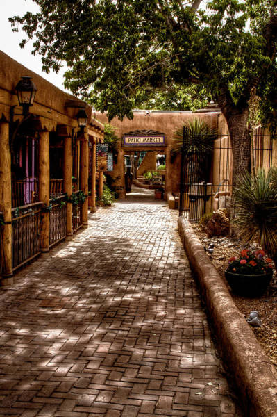 Photograph - The Patio Market by David Patterson