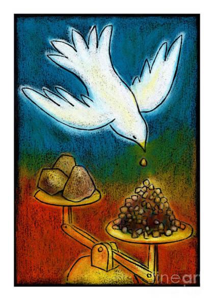 Painting - The Peacemakers - Jlpom by Julie Lonneman
