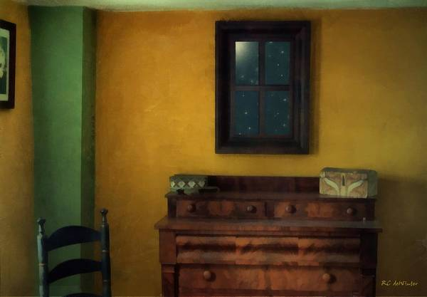 Painting - The Peach Room by RC DeWinter