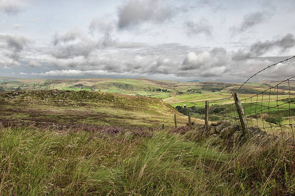 English Countryside Photograph - The Peak District by Martin Newman