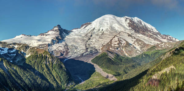 Photograph - The Peak Of Mount Rainier by Pierre Leclerc Photography