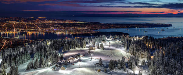 Photograph - The Peak Of Vancouver City by Pierre Leclerc Photography