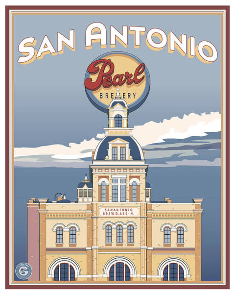 The Pearl Brewhouse Art Print