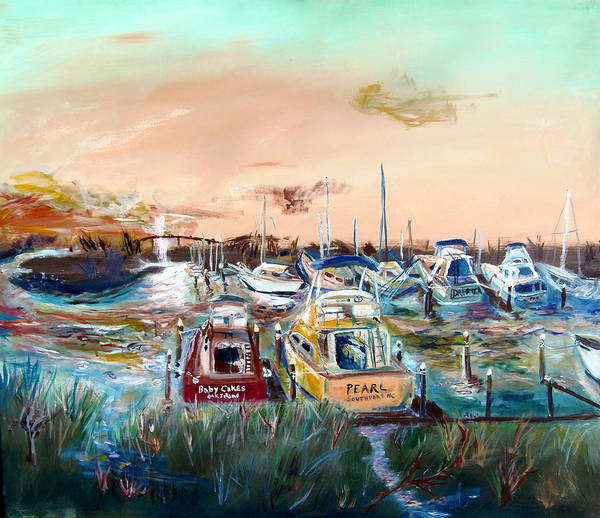 Oak Harbor Painting - The Pearl by Max Bowermeister