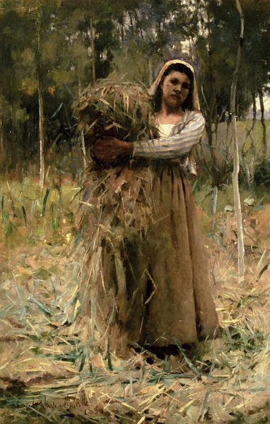 Wall Art - Painting - The Peasant Girl  by Arthur Melville