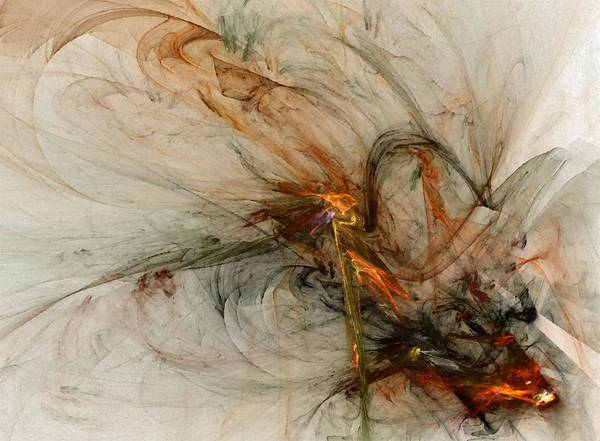 Wall Art - Digital Art - The Penitent Man - Fractal Art by NirvanaBlues