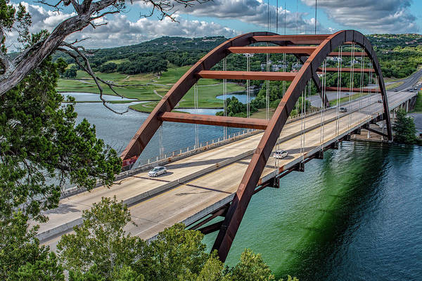 Photograph - The Pennybacker Bridge by Gaylon Yancy