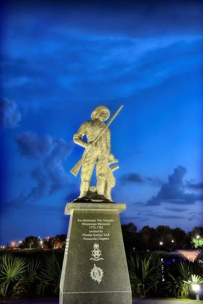 Wall Art - Photograph - The Pensacola Revolutionary War Memorial. by JC Findley