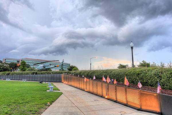 Wall Art - Photograph - The Pensacola Vietnam Wall by JC Findley