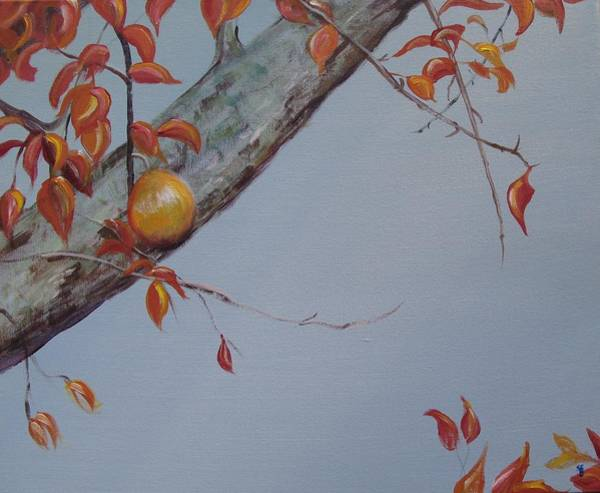 Wall Art - Painting - The Penultimate Pear by Susan Brooks