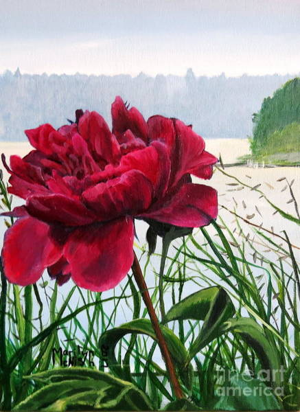 Painting - The Peony by Marilyn McNish