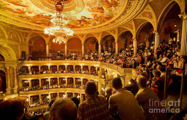 Houses Wall Art - Photograph - The People At The Budapest Opera House by Madeline Ellis
