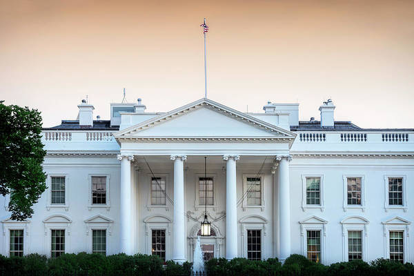 White House Photograph - The People's House by Andrew Soundarajan