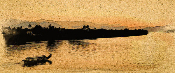 Digital Art - The Perfume River by Cameron Wood