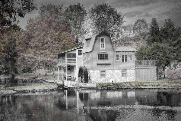 Photograph - The Peterson Mill In Saugatuck Michigan by Randall Nyhof