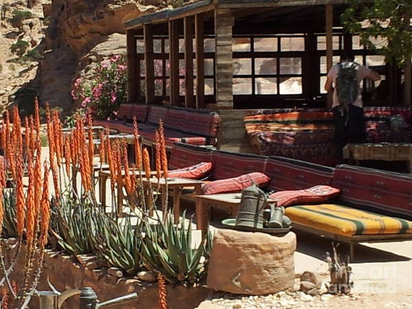 Photograph - The Petra Monastery Restaurant by Donna L Munro