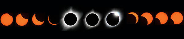 Photograph - The Phase Of An Eclipse - Straight by Matt Swinden