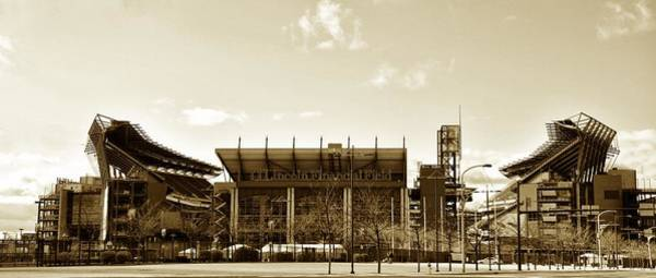 Photograph - The Philadelphia Eagles - Lincoln Financial Field by Bill Cannon