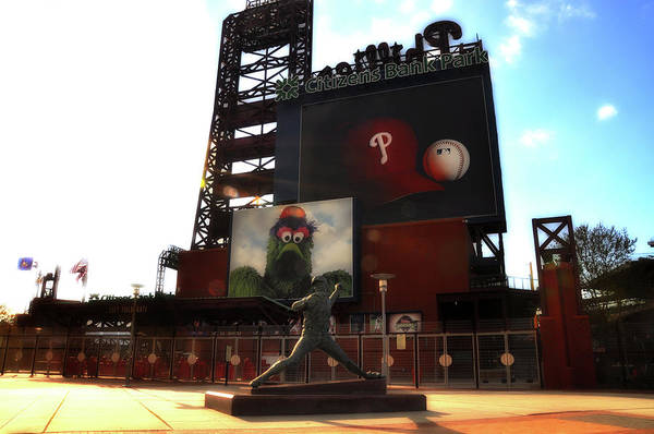 Citizens Bank Park Wall Art - Photograph - The Phillies - Steve Carlton by Bill Cannon