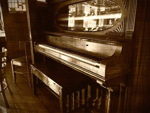 Photograph - The Piano In The Corner by Guy Whiteley