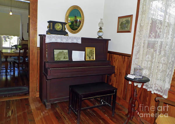 Photograph - The Piano Room by D Hackett