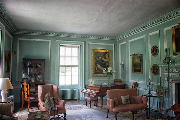 English Countryside Photograph - The Piano Room by Martin Newman