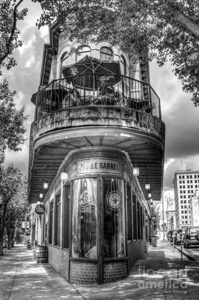 Wall Art - Photograph - The Pickle Barrel Too B W  Chattanooga, Tennessee Art by Reid Callaway