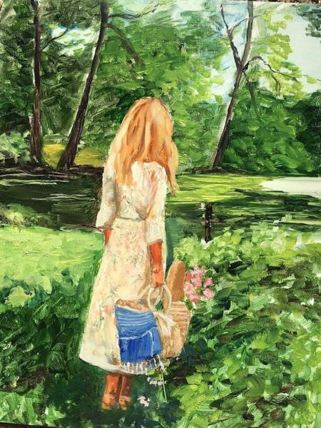 Painting - The Picnic by Lynne Atwood