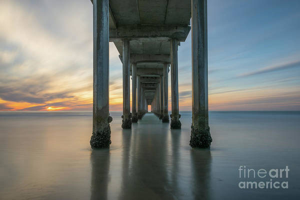 Photograph - The Pier  by Michael Ver Sprill