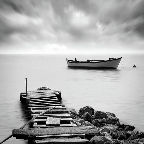 Poetic Photograph - The Pier by Zapista Zapista