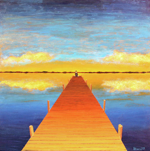Painting - The Pier by Thomas Blood