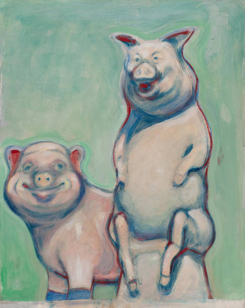 Painting - The Pigs by John Reynolds