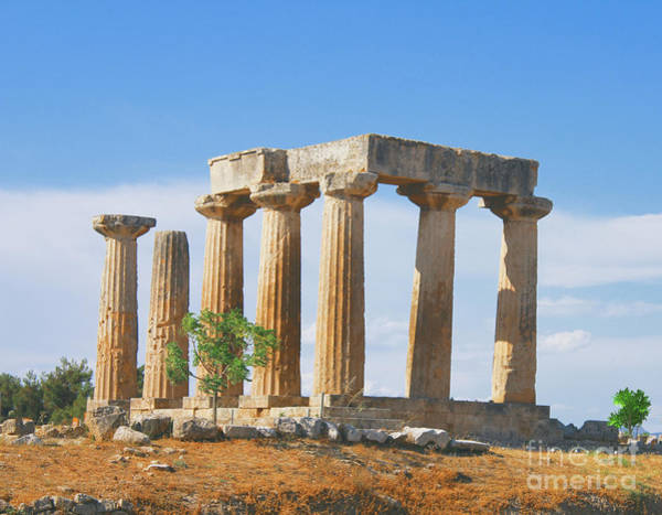 Photograph - The Pillar Athens by Donna L Munro