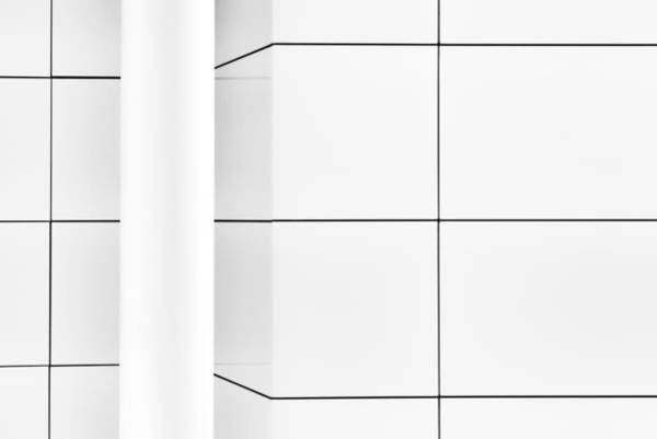 Lines Photograph - The Pillar In The Corner by Gerard Jonkman