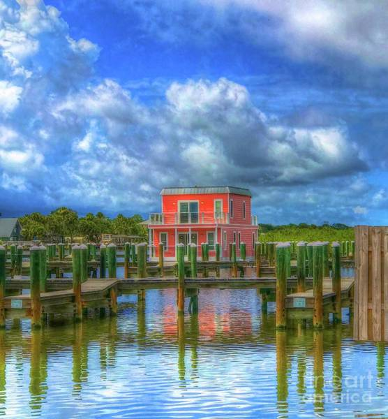 Wall Art - Photograph - The Pink Boathouse by Debbi Granruth