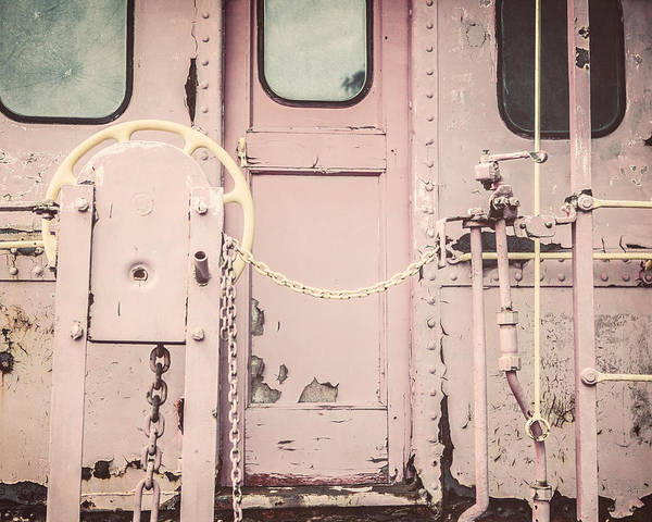 Lisa Russo Wall Art - Photograph - The Pink Caboose by Lisa Russo
