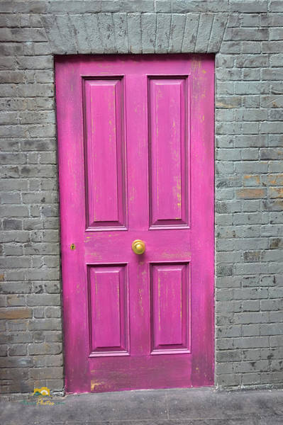 Photograph - The Pink Door by Jim Thompson