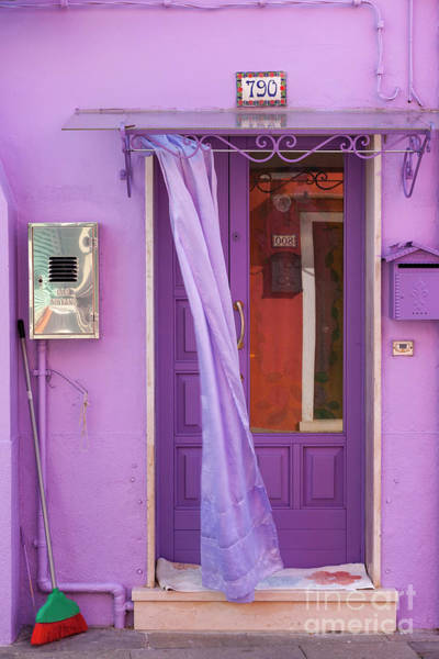 Photograph - The Pink House On Burano by Heiko Koehrer-Wagner