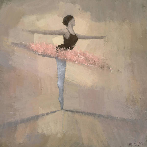 Dance Painting - The Pink Tutu by Steve Mitchell