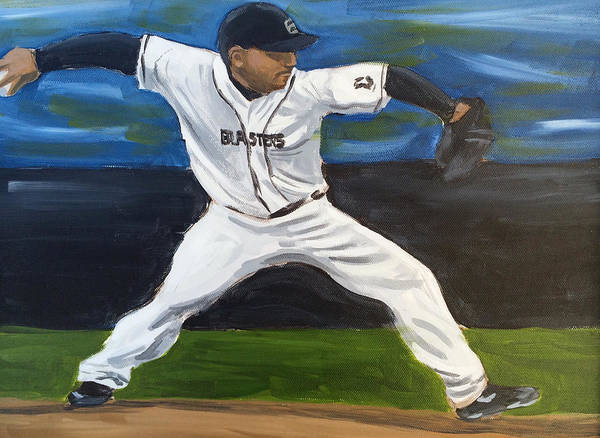 Painting - The Pitcher by Dustin Miller