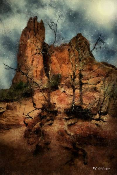 Painting - The Place Of Snakes by RC DeWinter