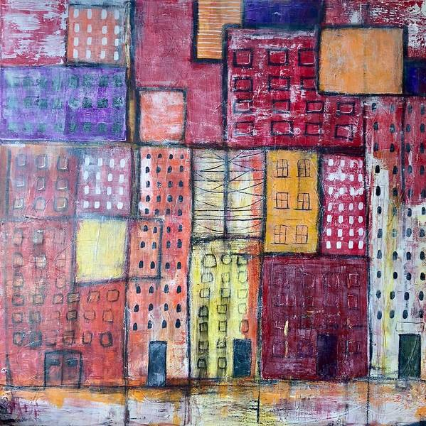 Painting - The Place Where You Live by Monica Martin