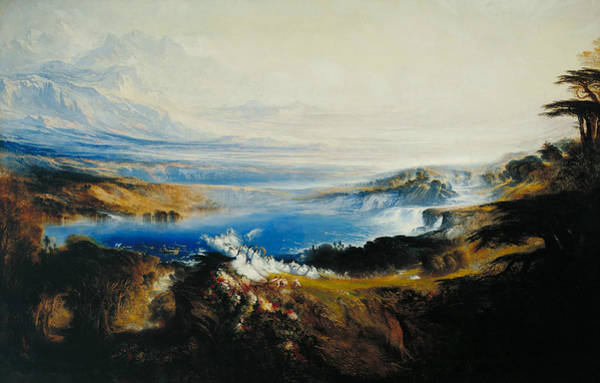 Painting - The Plains Of Heaven by John Martin