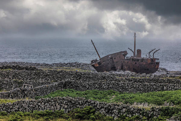 Photograph - The Plassey Shipwreck by Teresa Wilson