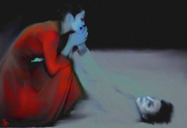 Bodie Digital Art - The Play by V Bodie