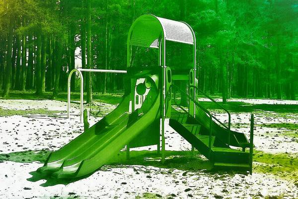 Photograph - The Playground II - Ocean County Park by Angie Tirado