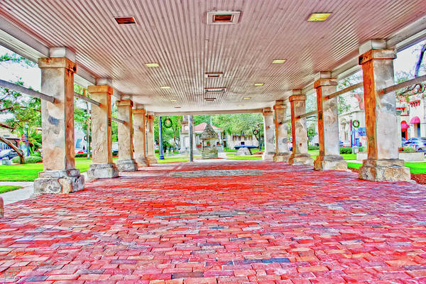 Photograph - The Plaza by Gina O'Brien