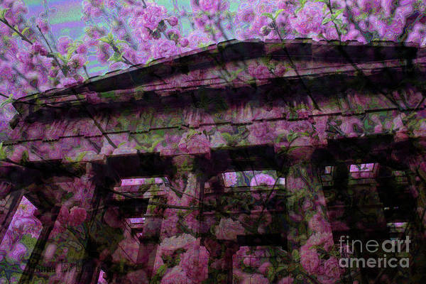 Digital Art - The Plum Blossom Tabernacle by Donna L Munro