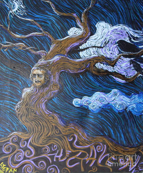 Painting - The Poe Tree by Stefan Duncan